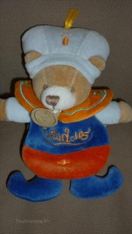 Doudou et compagnie ours prince cape Indidous 56131539