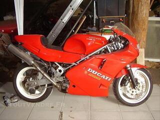 Ducati 900 ss preparée piste de 1990