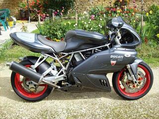 "Ducati 900 ssie ""senna"" année 2002"