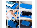 Durable Cold Cooling Pillow Chilled Laptop Gel mat Pad Bed C