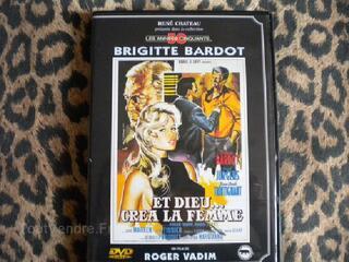 """Dvd avec Brigitte Bardot """"Et dieu créa la femme"""""""