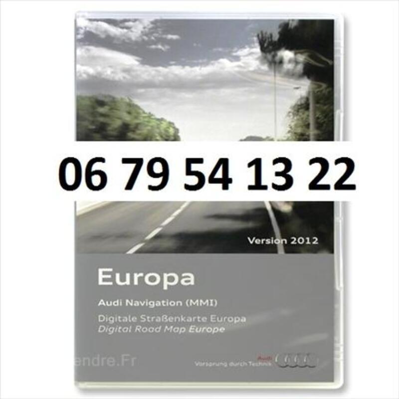 DVD CD GPS Audi 2011 MMI RNS-E navigation original 54801368
