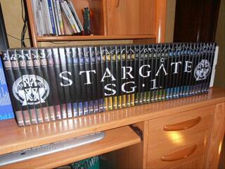 DVD de STARGATE SG1