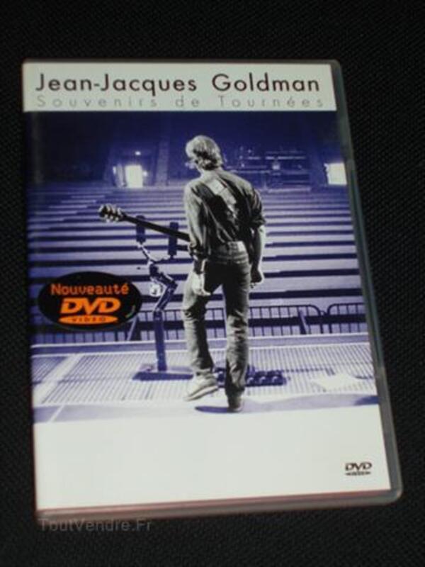 DVD JEAN-JACQUES GOLDMAN souvenirs de tournées 87857049