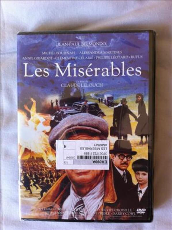 DVD - Les Misérables de Claude Lelouch - Neuf Emballé 77359000