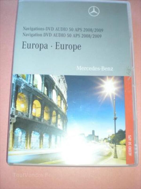 DVD Originaux Mercedes Comand APS et APS 50 Europe 55983611