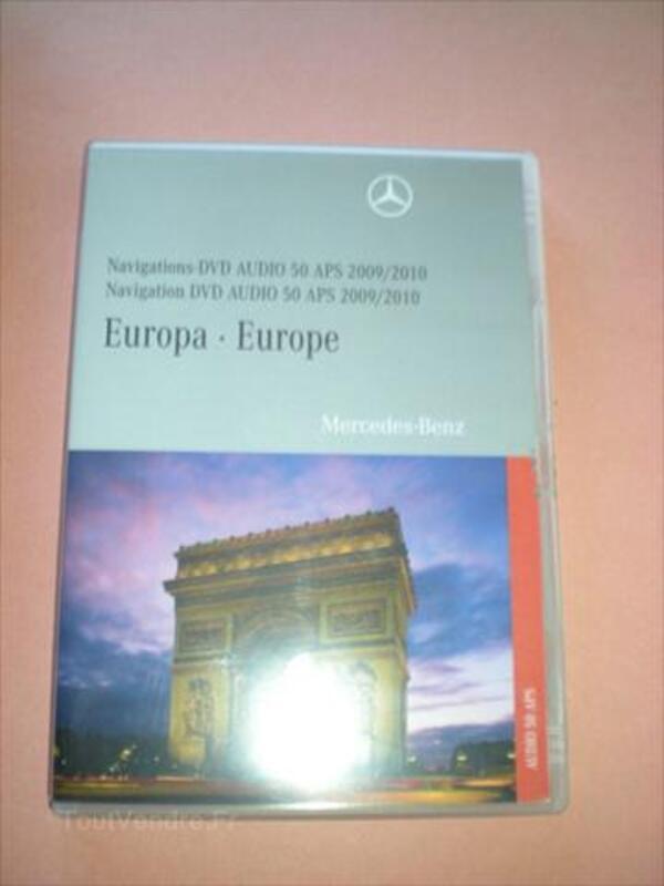 DVD Originaux Mercedes Comand APS et APS 50 Europe 55983612