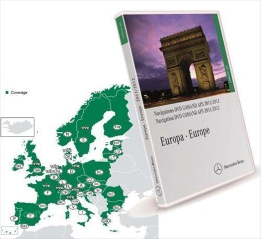 DVD Originaux Mercedes Comand APS et APS 50 Europe 55983613