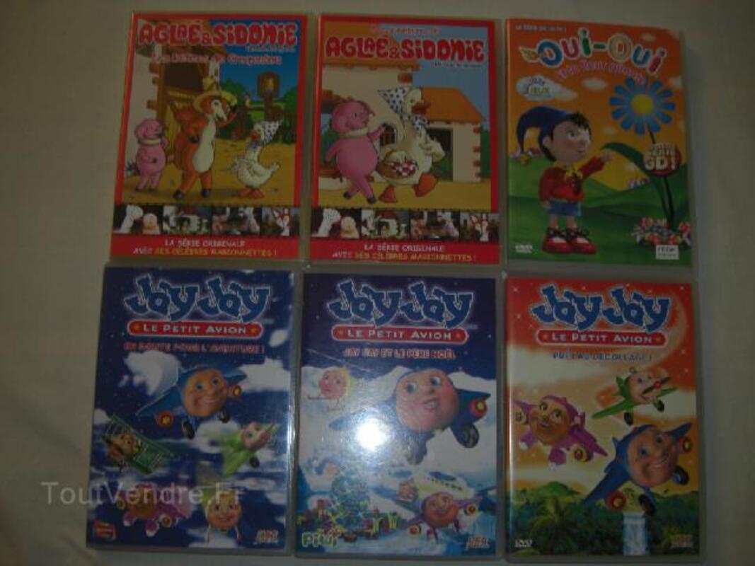 DVD POUR ENFANTS OGGY OUI-OUI AGLAE&SIDONIE JAYJAY... 92928266