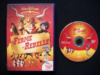 DVD WALT DISNEY LA FERME SE REBELLE N° 76