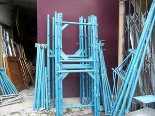 Echafaudages comabi environ 70 m² comme neuf