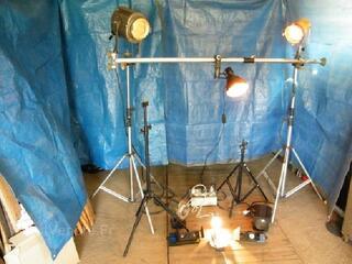 Eclairage studio