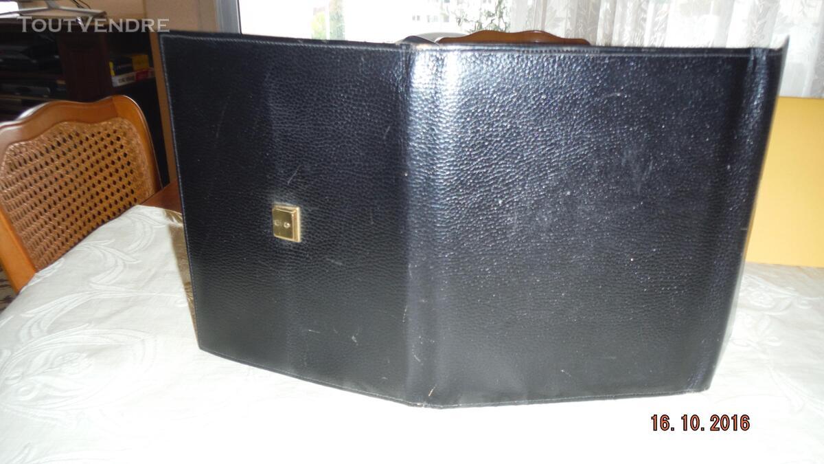 """ECRITOIRE cuir noir """"Le Tanneur"""" 308686585"""