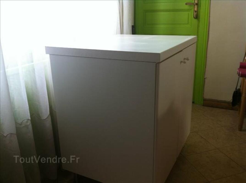 Elément de cuisine FAKTUM blanc 2 portes, 2 étagères 87521478
