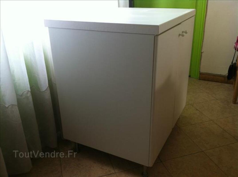 Elément de cuisine FAKTUM blanc 2 portes, 2 étagères 87521479