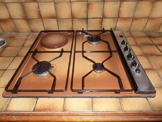 Elements de cuisine encactrables sur plan de travail