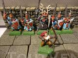Elfes warhammer , heroquest miniature 25 mm