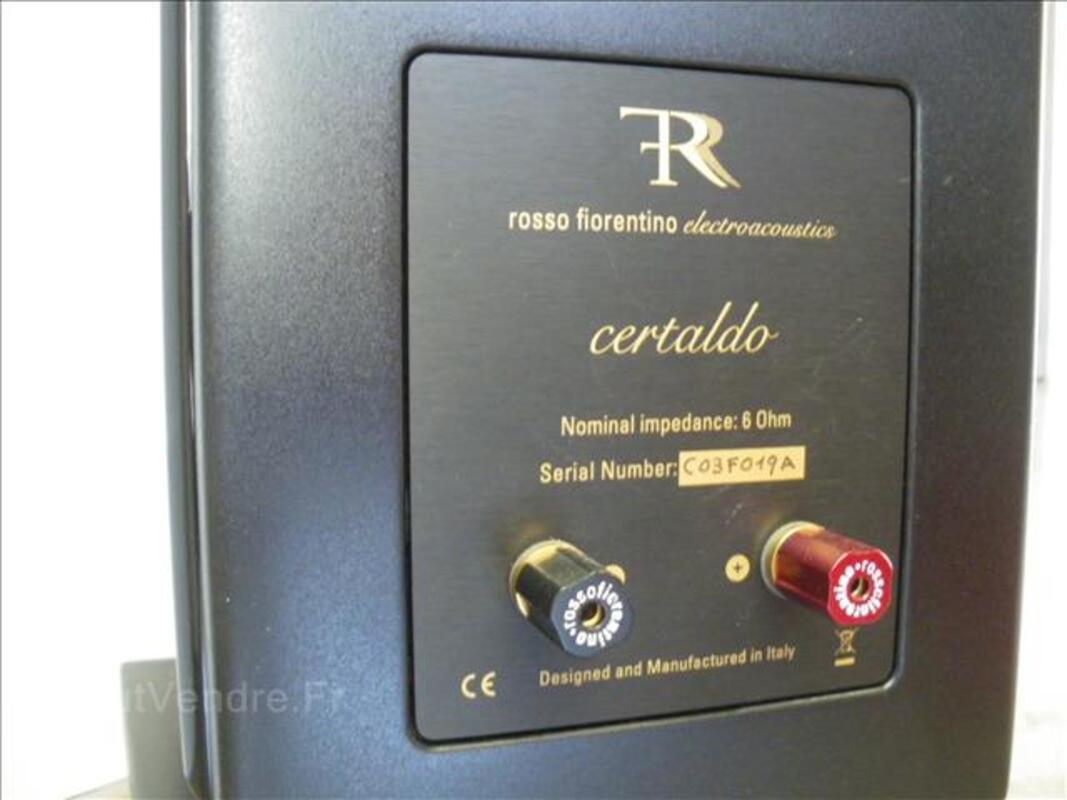 Enceinte acoustique hifi Rosso Fiorentino Certaldo 99936059
