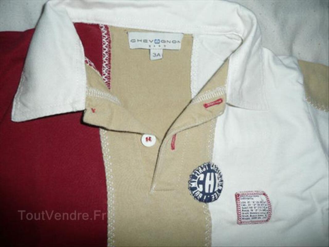 Ensemble bermuda + 2 t-shirts CHEVIGNON 3 ans 64463628