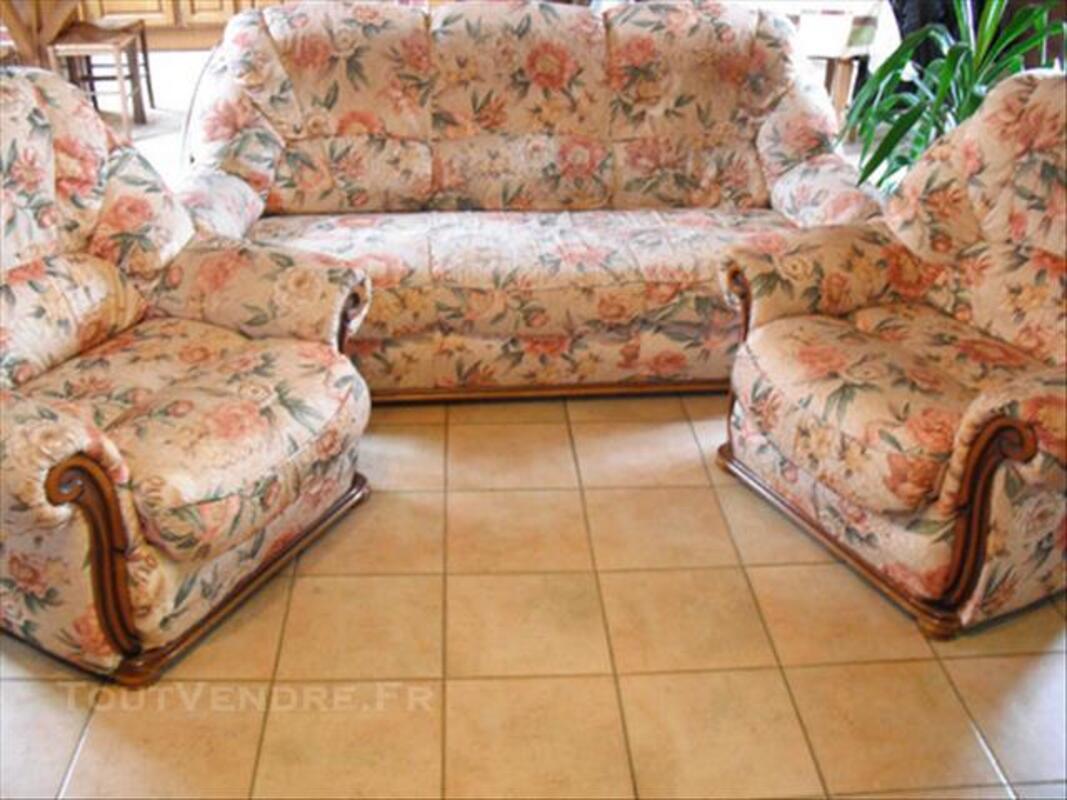 Ensemble canapé et 2 fauteuils 77362525