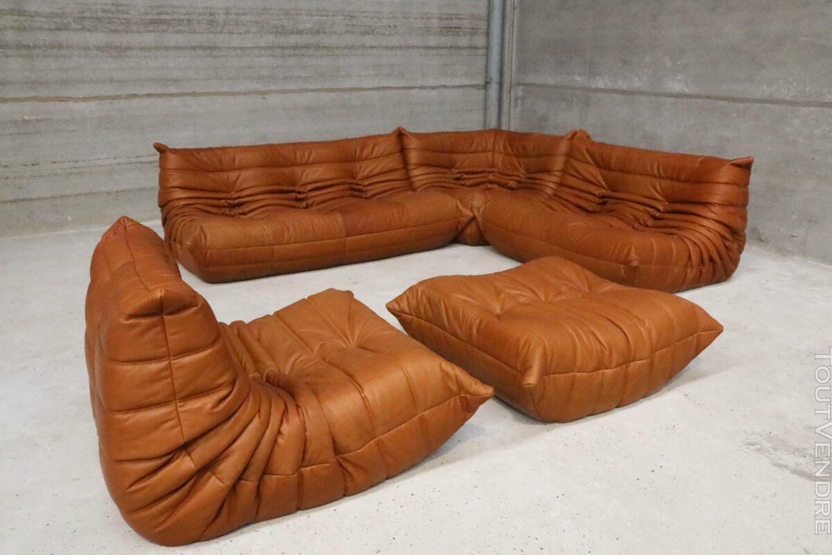 """Ensemble canapé et fauteuils """"Togo"""" design de Michel Ducaroy 146850629"""