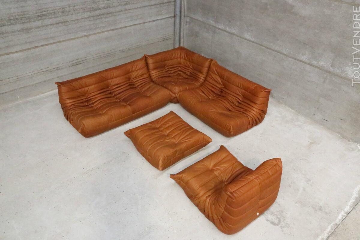 """Ensemble canapé et fauteuils """"Togo"""" design de Michel Ducaroy 146850630"""