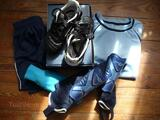 ENSEMBLE COMPLET FOOT 6/8 ANS + CHAUSSURES 28 UMBRO