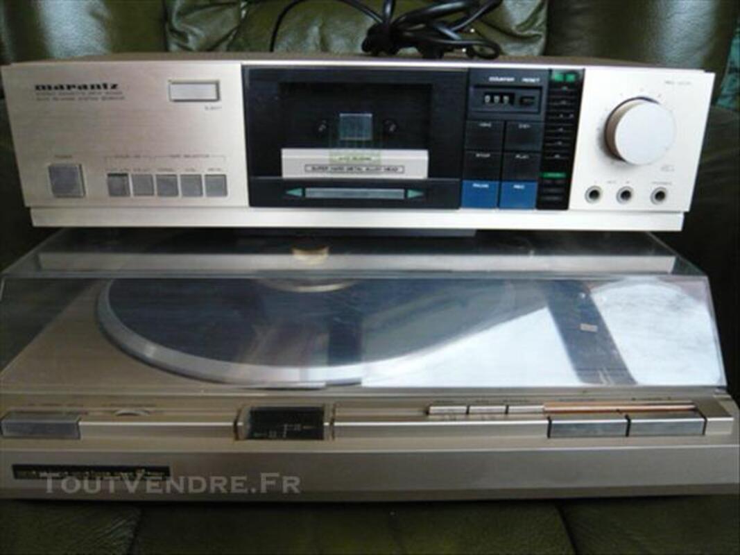 Ensemble Platine TT320 + Stéréo Cassette SD340 MARANTZ 77534068