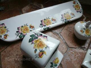 Ensemble salle de bain : Porcelaine de LIMOGES