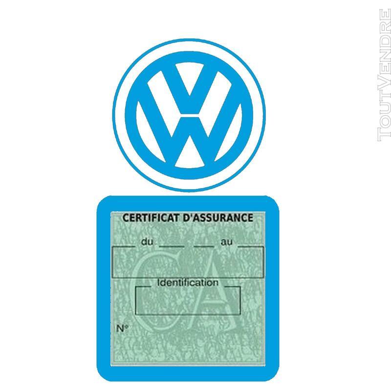Etui vignette assurance voiture LOGO VW VOLKSWAGEN 650691601