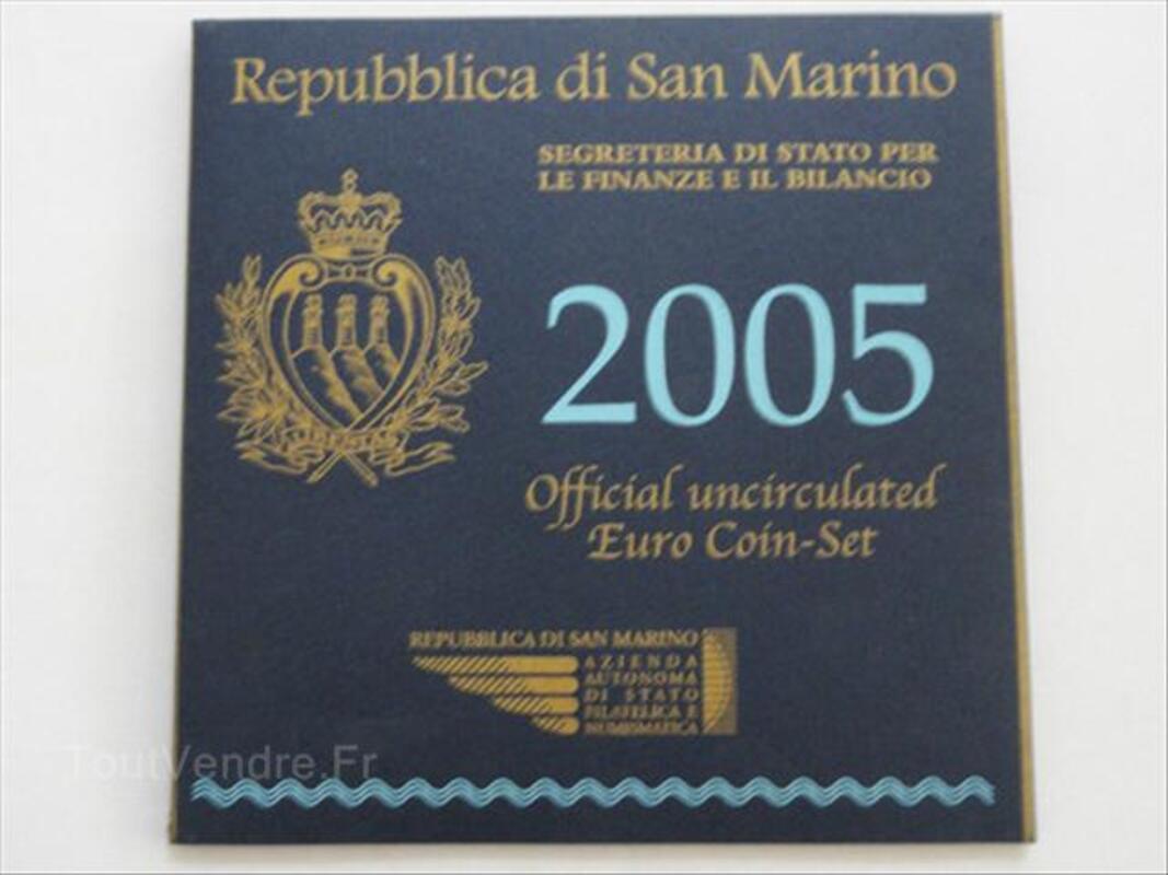 Euros Saint Marin au détail - 2005 BU 66145497