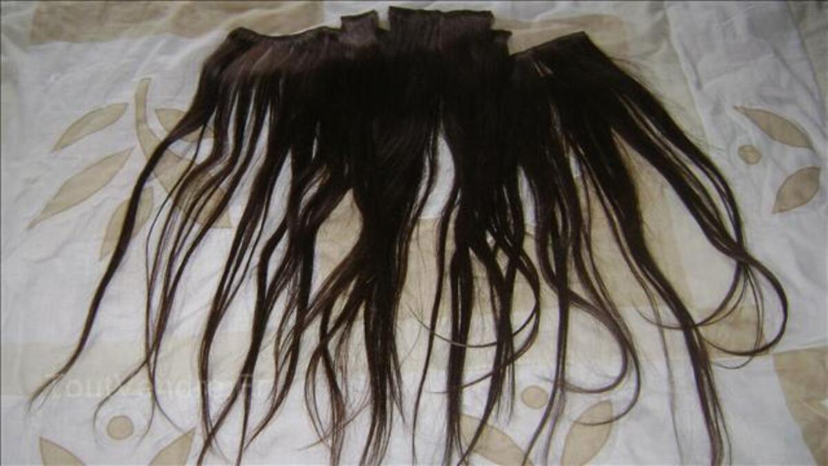 Extension de cheveux naturel 8249575