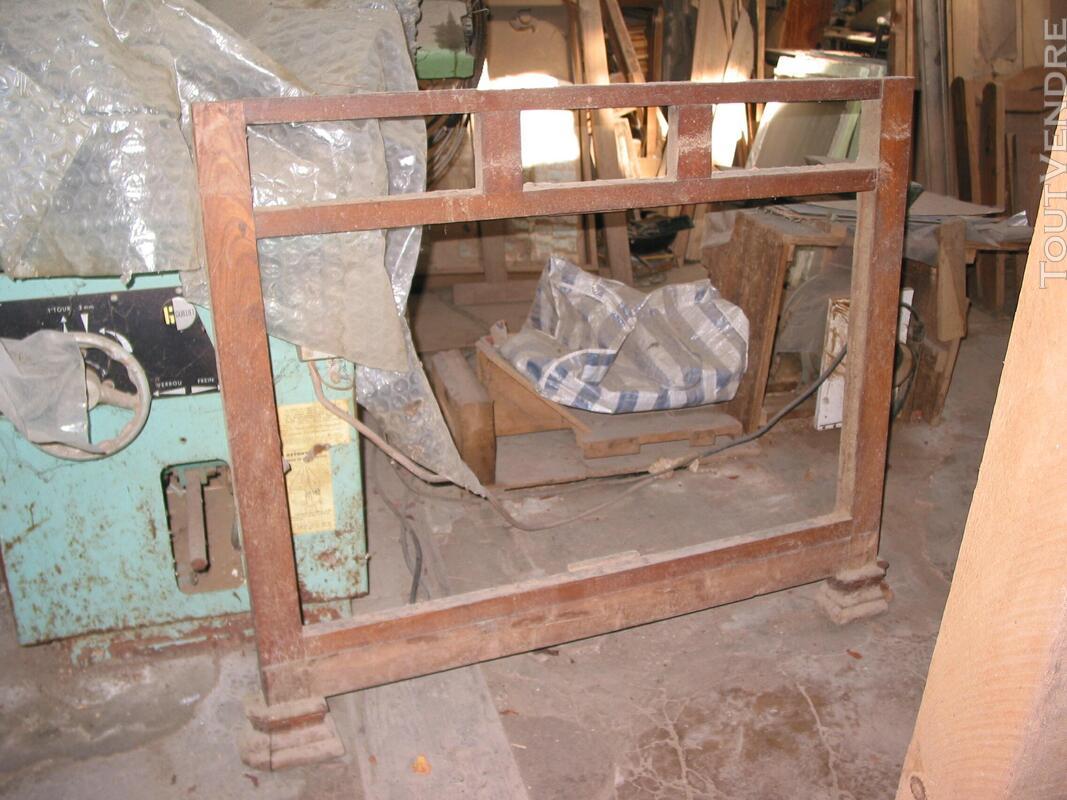 Façade de meuble cadre sans portes ni tiroirs pieds complets 557477990