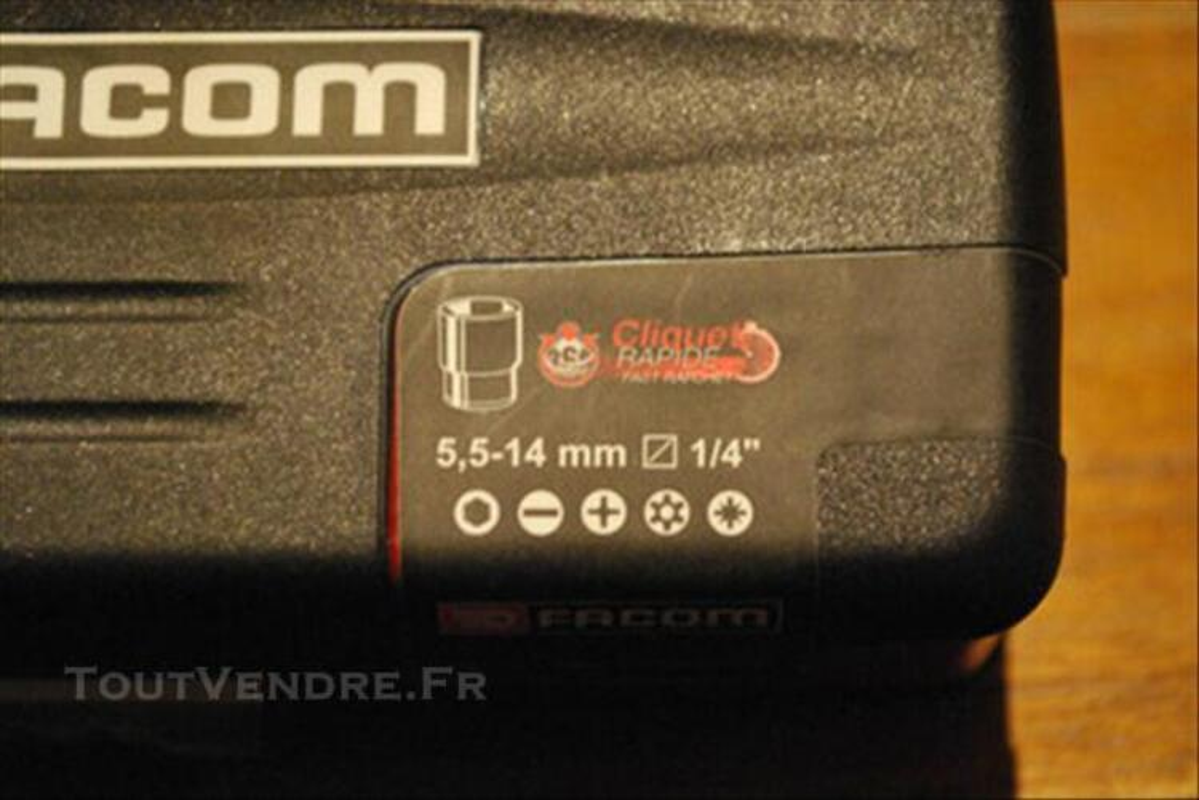 FACOM R.360 Coffret radio 1/4 serrage-vissage 38 76611716