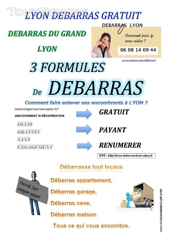 Faire débarrasser un appartement à Lyon 06.08.14.09.44 121474011