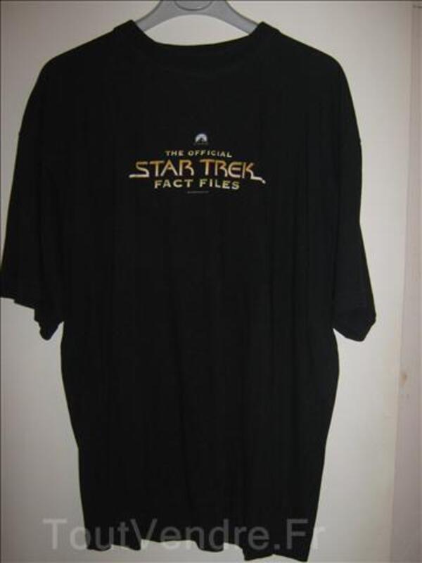 Fan de star trek tee shirt taille XL 69885514
