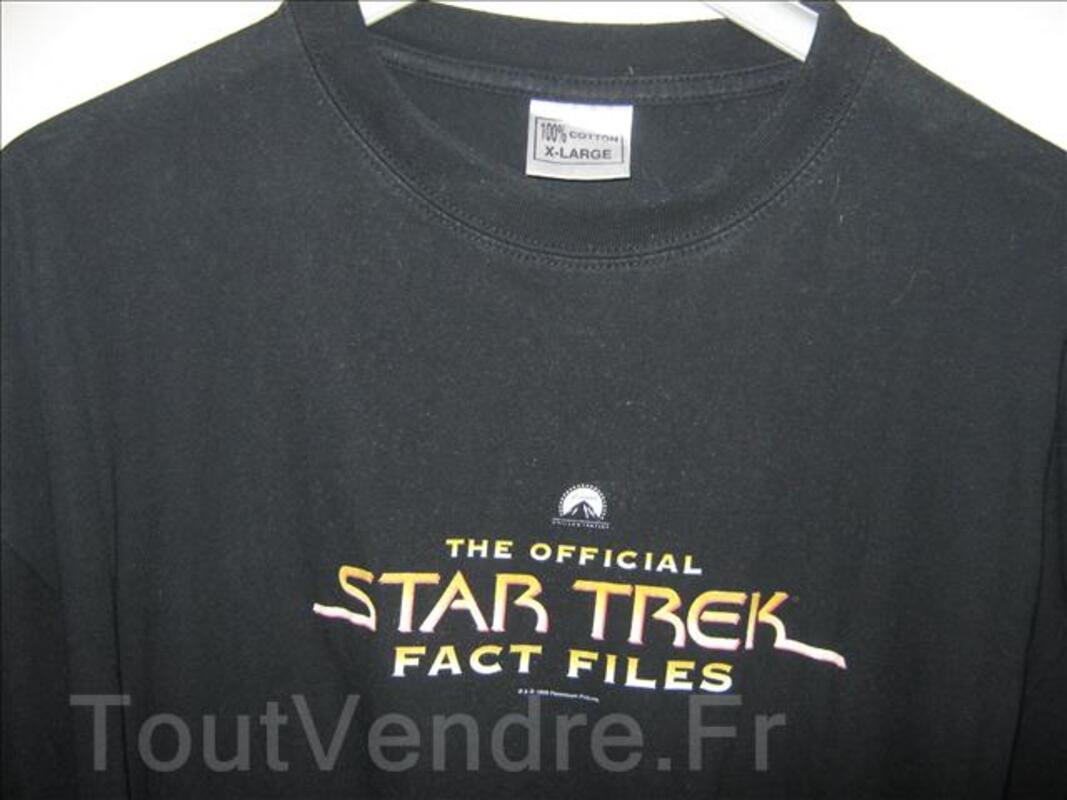 Fan de star trek tee shirt taille XL 69885574