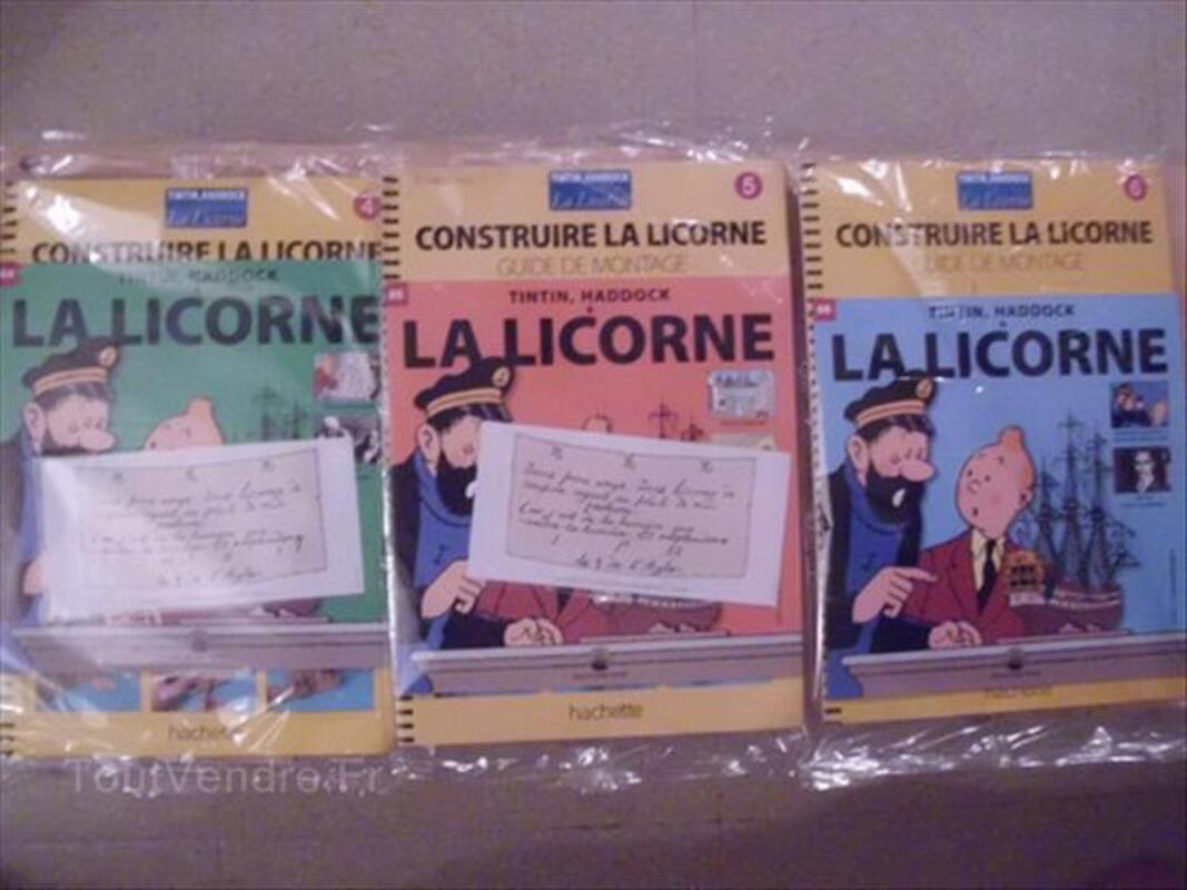 Fascicule tintin et la licorne n°4,5 et 6 56440786