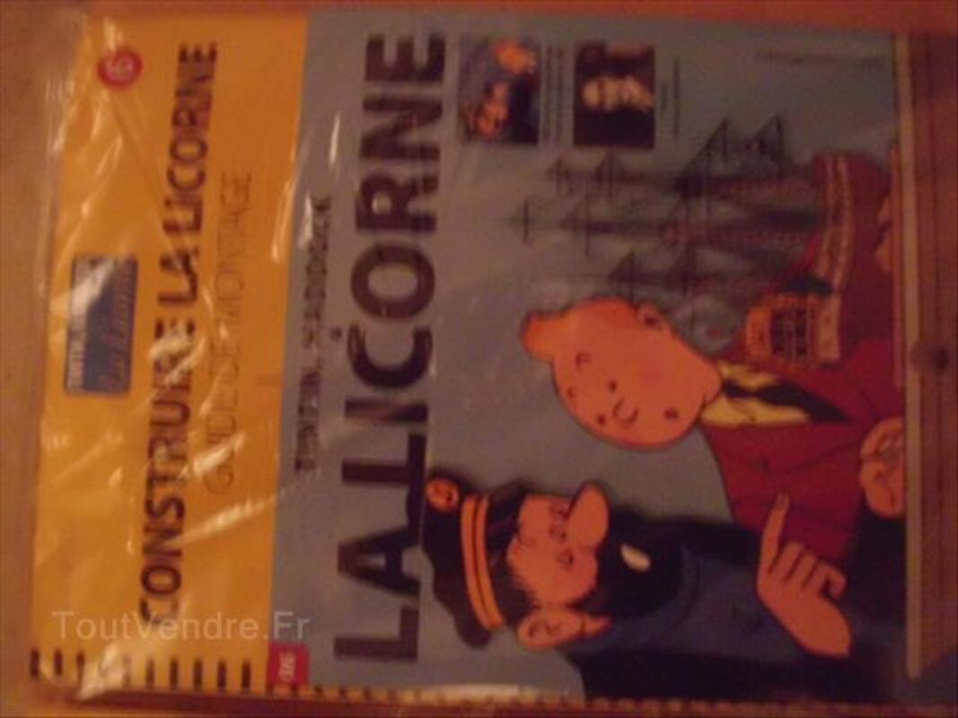Fascicule tintin et la licorne n°4,5 et 6 56440788