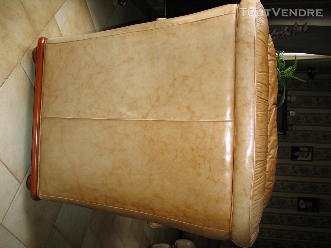Fauteuils de salon cuir de luxe 122755476