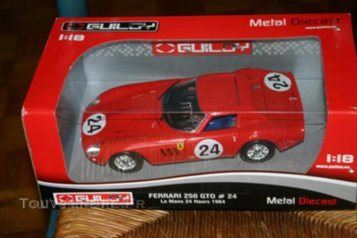 FERRARI 250 GTO n° 24 GUILOY 1/18 44946331