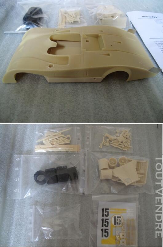 Ferrari 312 PB 24H du Mans 1973 kit resine 1/18 Profil 24 131342476