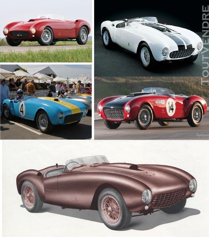 Ferrari 375MM 1953 spider kit carrosserie 1/18 RARE 125744126