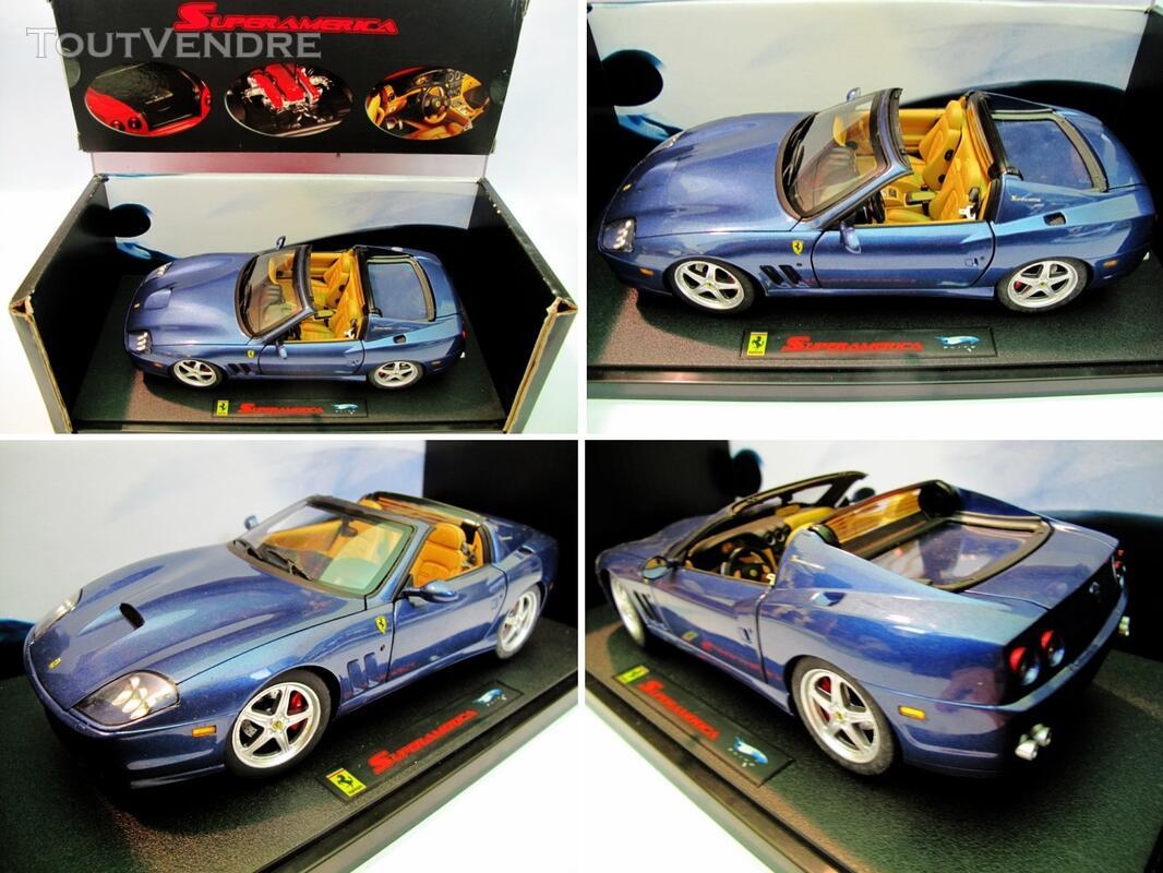 Ferrari 575 SuperAmerica 1/18 Mattel Elite 125745429