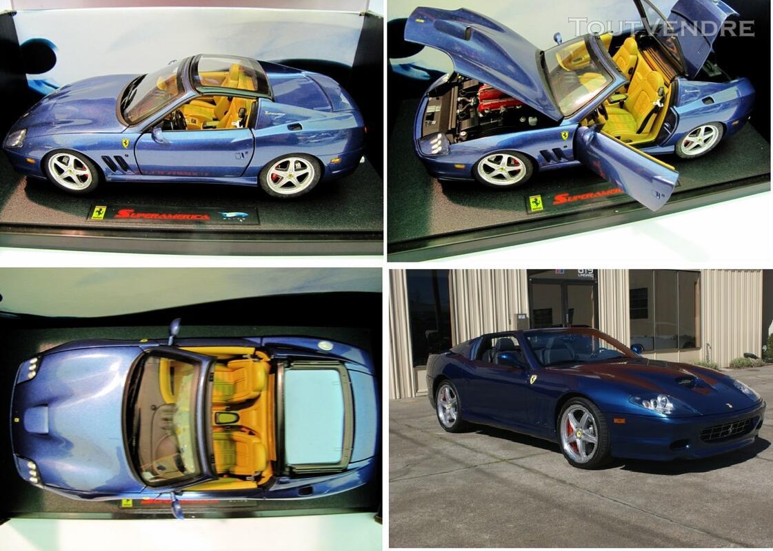 Ferrari 575 SuperAmerica 1/18 Mattel Elite 125745430