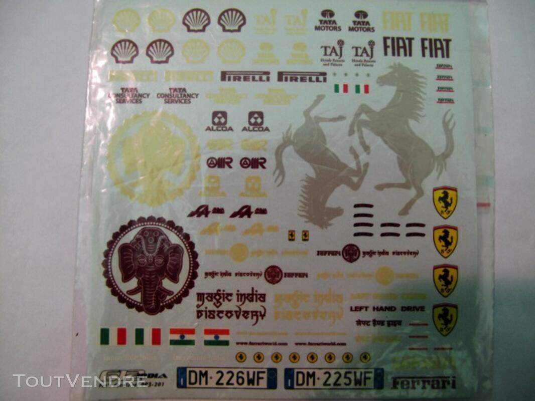 Ferrari 612 Elite 1/18 + decals Magic India Discovery Tour 125745520