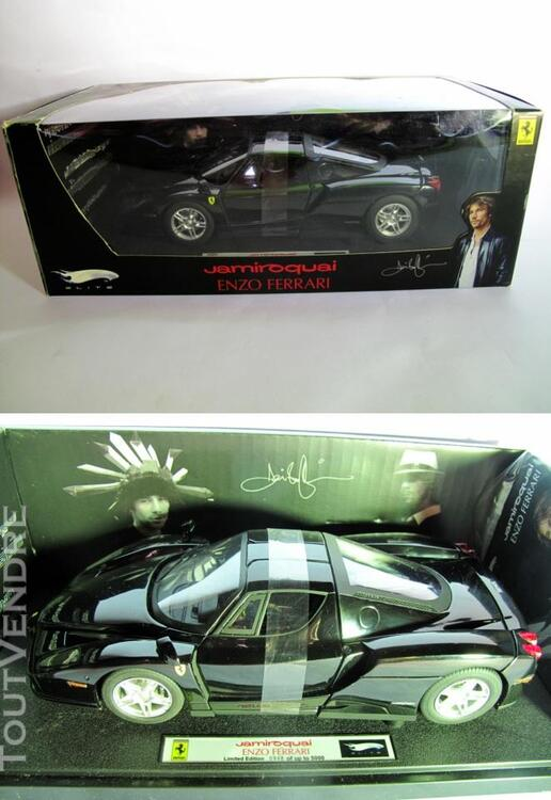 Ferrari ENZO BLACK 1/18 Mattel Elite T6255 255220083