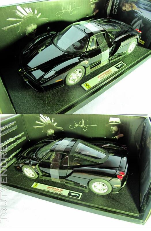 Ferrari ENZO BLACK 1/18 Mattel Elite T6255 255220086