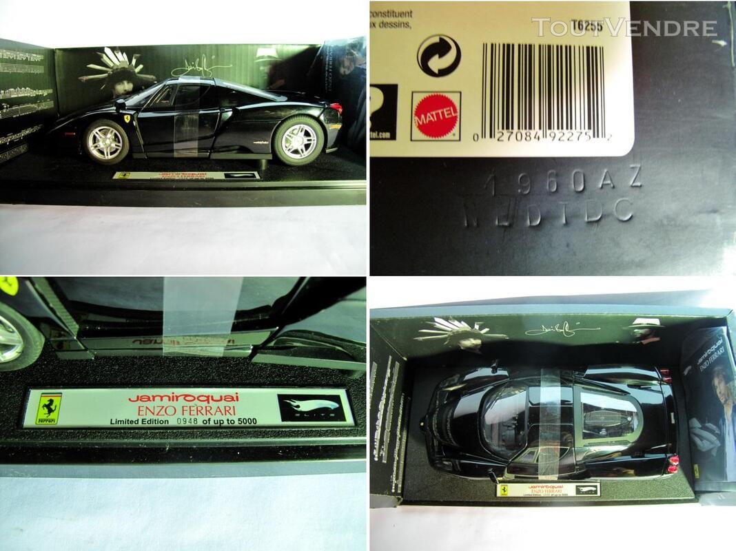 Ferrari ENZO BLACK 1/18 Mattel Elite T6255 255220089
