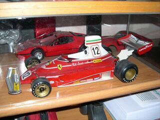 Ferrari F1 312T 312 T protar 1/12 n°12 Niki Lauda